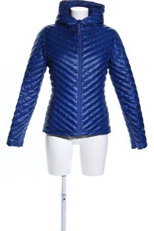 Lacoste Giubbotto trapuntato blu motivo trapuntato stile casual