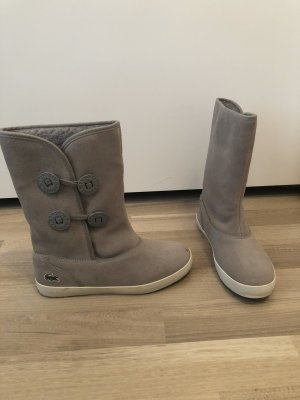 Lacoste Low boot gris-blanc