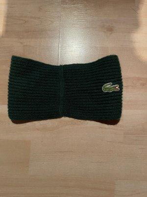Lacoste Chapeau en tricot vert foncé