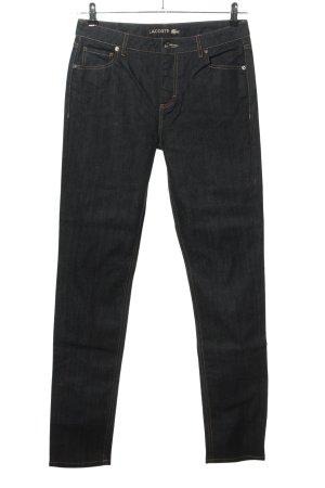 Lacoste Straight-Leg Jeans schwarz Casual-Look