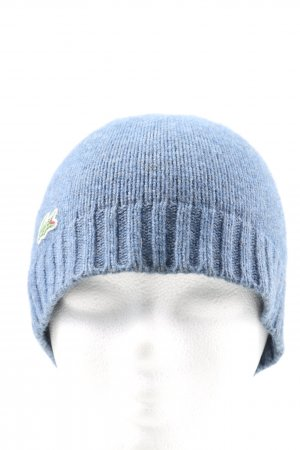Lacoste Knitted Hat blue casual look