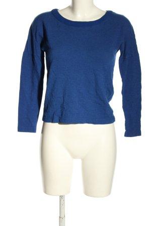 Lacoste Jersey de punto azul look casual