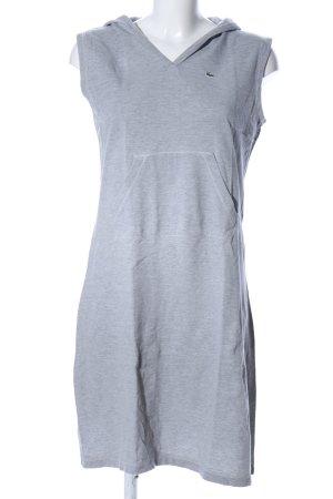 Lacoste Sweat Dress light grey flecked casual look