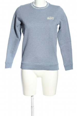 Lacoste Sweatshirt blau meliert Casual-Look