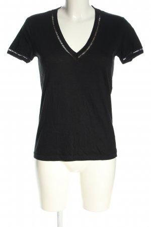 Lacoste T-Shirt schwarz Casual-Look