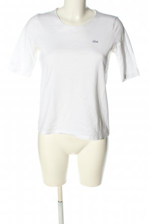 Lacoste T-Shirt white casual look