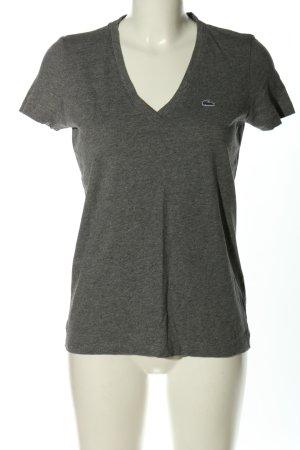 Lacoste T-Shirt hellgrau Casual-Look