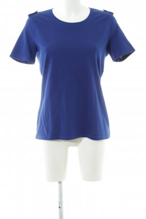 Lacoste T-Shirt blau Business-Look