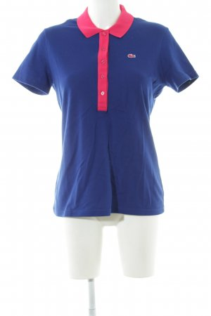 Lacoste T-Shirt blau-pink Casual-Look