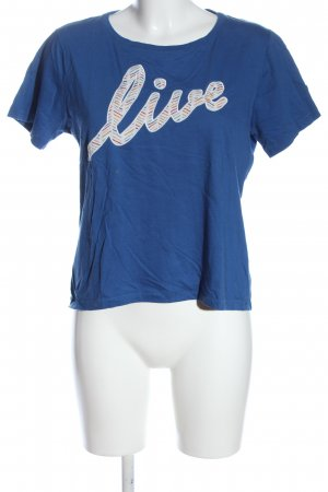 Lacoste Camiseta letras impresas look casual