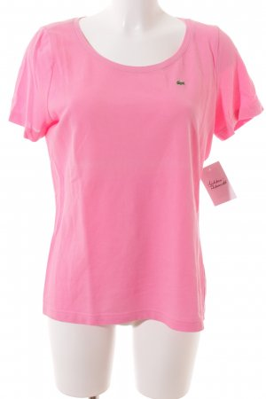 Lacoste T-Shirt pink Casual-Look