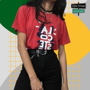 Lacoste T-shirt rosso chiaro