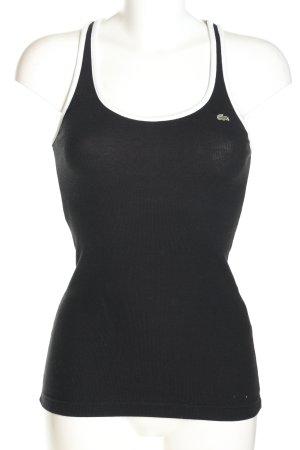 Lacoste Tank Top black casual look