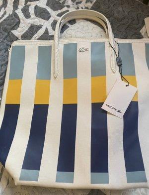 Lacoste Handbag white-azure
