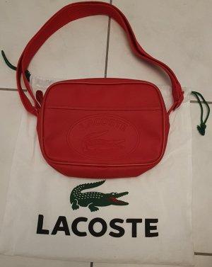 Lacoste Tasche rot, Original, Petit Pique - Canvas, NEU