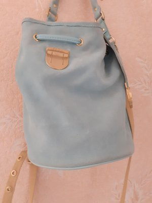 Lacoste Pouch Bag turquoise leather