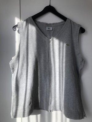 Lacoste Débardeur gris-gris clair