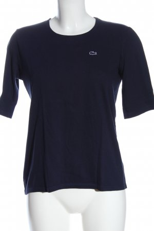 Lacoste Camiseta azul look casual