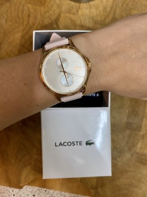 Lacoste Analog Watch rose-gold-coloured-light pink