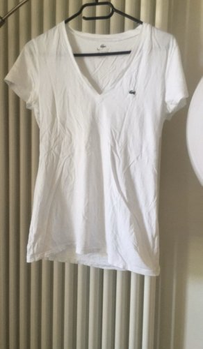 Lacoste Weiss T-shirt L
