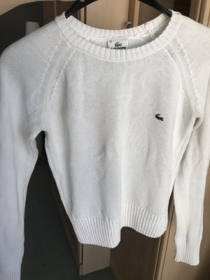 Lacoste weißer Sommer-Pullover Gr.36