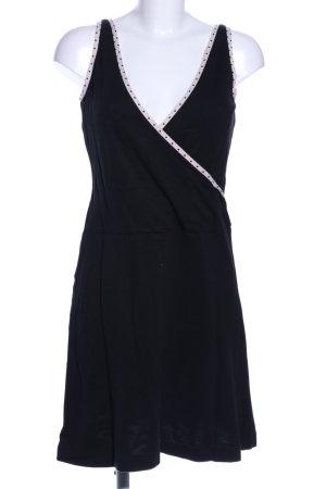 Lacoste Robe portefeuille noir style décontracté
