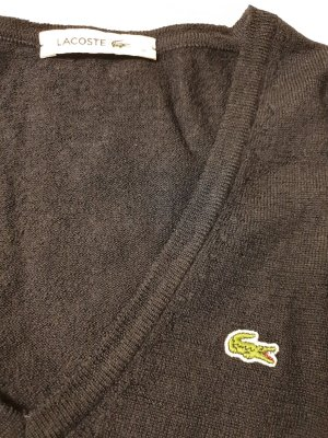 Lacoste Wollpullover dunkelblau