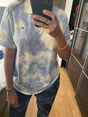 Lacoste XL shirt Polo T-shirt blau Creme