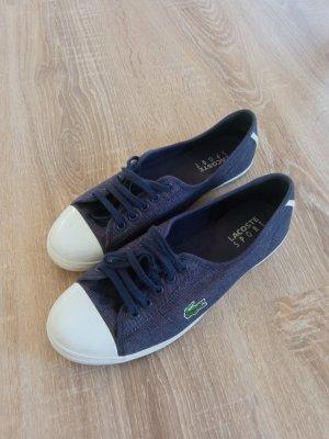 Lacoste Ziane Sneaker Slipper 38 blau
