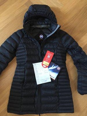 Canada Goose Manteau en duvet noir tissu mixte