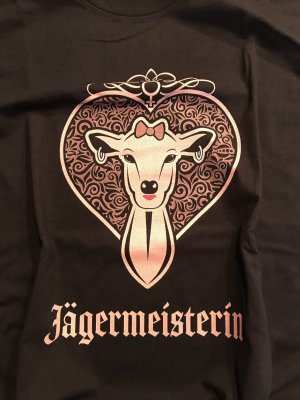 Ladies Jägermeisterin T-Shirt