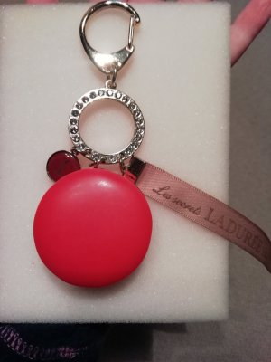 Key Chain red-bright red synthetic material