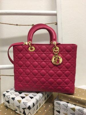 Lady Dior Bag Large pink
