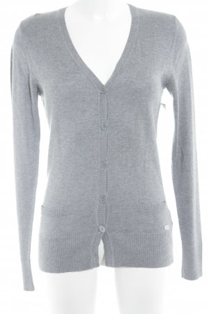 Lady in Paris Cardigan grau Casual-Look