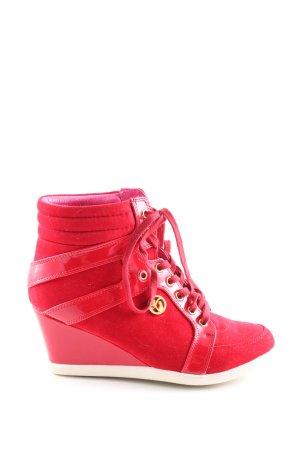 Ladystar by daniela katzenberger Absatz Sneaker rot Casual-Look