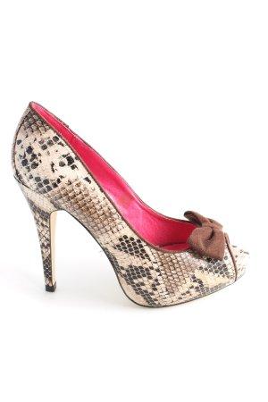 Ladystar by daniela katzenberger High Heels Animalmuster Elegant