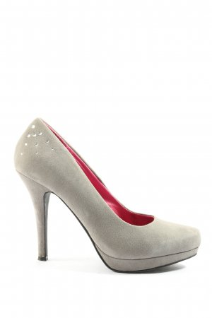 Ladystar by daniela katzenberger High Heels hellgrau Casual-Look
