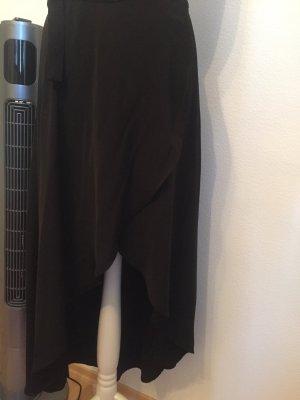 Amisu Falda asimétrica negro