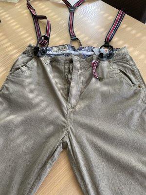 Tommy Hilfiger Denim Pantalone a 3/4 grigio-verde