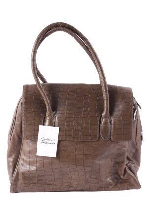 Lässig Shopper hellbraun Street-Fashion-Look