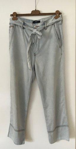 Lässig weite Jeans aus Baumwolltencel von Diesel