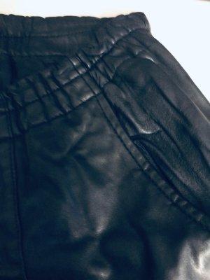 Lässig weite Lederhose von Segnaro