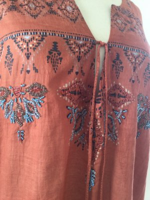 Sukienka tunika Wielokolorowy Bawełna