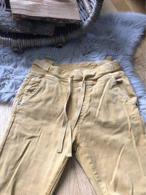 Pantalon boyfriend ocre