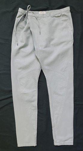 Diesel Harem Pants light grey cotton