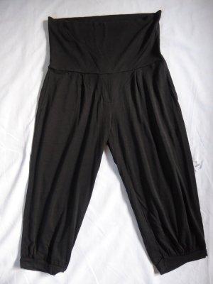 Sisley Spodnie Capri czarny