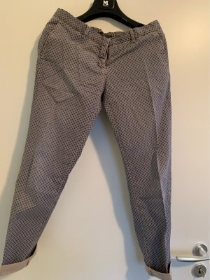Monocrom Chinos steel blue-light grey