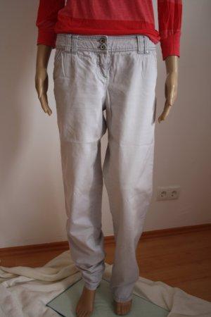 lässige, graue Chino-Jeans