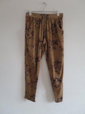 Zara Pantalone alla turca multicolore Tessuto misto