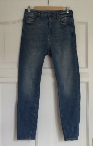 Edc Esprit Jeans a vita alta azzurro-blu acciaio Cotone